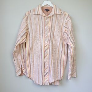 Ted Baker London Striped Button Down Shirt